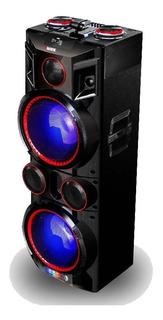 Caja Amplificada Novik Extreme-x Usb Mp3 Bluetooth 2x10pulg