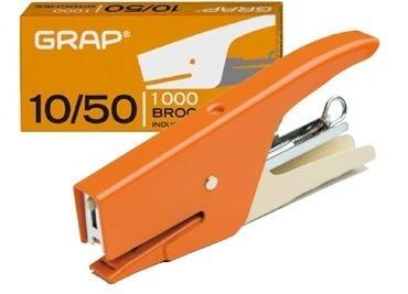Abrochadora Grap 10/50 Pinza Metalica - Industria Nacional