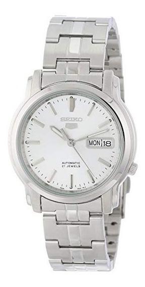 Seiko Snkk65 Seiko 5 - Reloj Automático Para Hombre (acero I