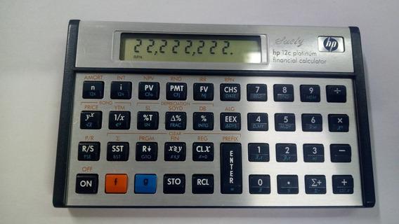 Calculadora Hp12c Platinum Usada
