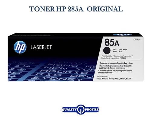 Toner Hp 285a  Negro Original