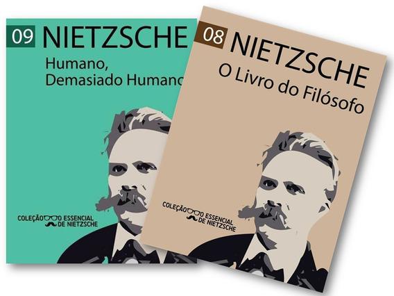 Nietzsche - O Livro Do Filósofo + Humano, Demasiado Humano