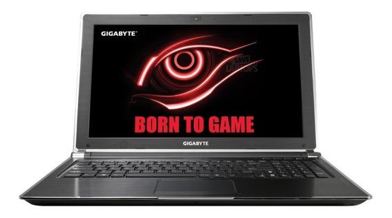 Notebook Gamer Gigabyte P25x V2 Corei7 Gtx880 16gb 1t+256ssd