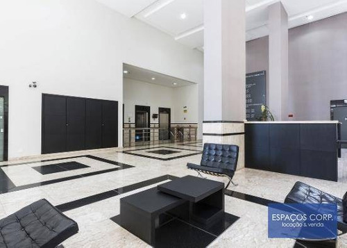 Laje Comercial Para Alugar, 558m² - Itaim Bibi - São Paulo/sp - Lj0708