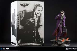 Joker The Dark Knight Sideshow Premium Format