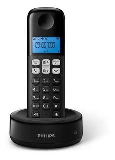 Telefono Inalambrico Philips D1311b Negro En Cuotas