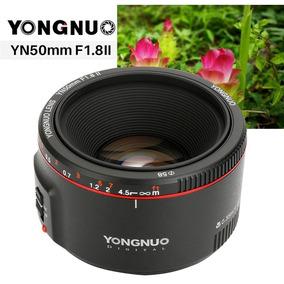 Lente Yongnuo Yn 50mm F / 1.8 Ii Para Canon Ef