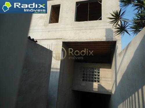 Excelente Sobrado Novo Em Condomínio Fechado Muito Bem Localizado - Rx8598