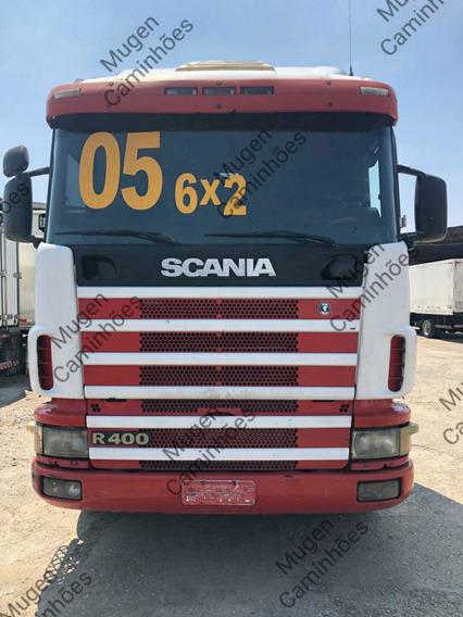 Scania 124 400 6x2 2005 Motor Novo