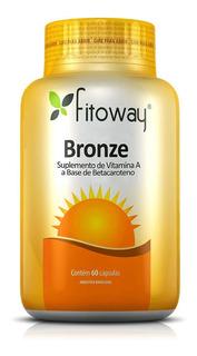 Bronze Betacaroteno Fitoway - 60 Cáps