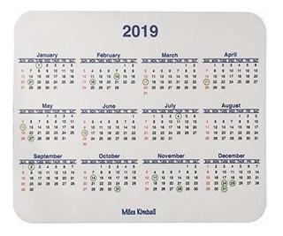 Calendario Mouse Pad