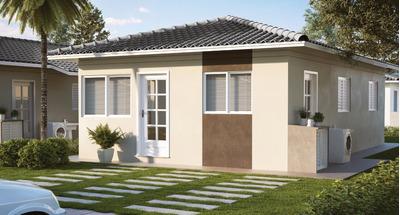 Lançamento Casas Plano Minha Casa Minha Vida Em Serrana No Santa Valentina, Desconto Ate R$ 31 Mil, 2 Dormitorios, 45 M2 Construção Em 160 M2 Terreno - Ca01024 - 34616242