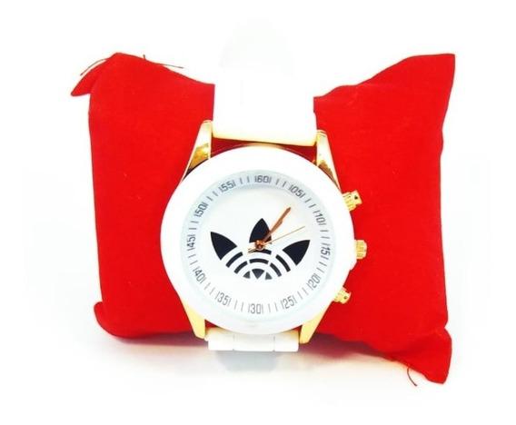 Relógio adidas Tangan Wanita Aço Inoxidável Pulseira Silicon