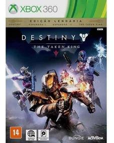 Destiny The Taken King Xbox 360 Midia Física Lacrada Origina
