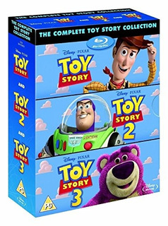 La Coleccion Completa De Toy Story 1 2 3 Bluray Box Set Disn