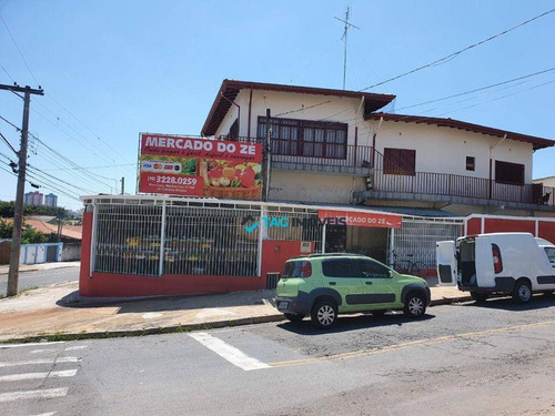 Prédio, 433 M² - Venda Por R$ 1.500.000,00 Ou Aluguel Por R$ 1.800,00/mês - Jardim Campos Elíseos - Campinas/sp - Pr0053