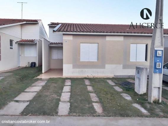 Casa 2 Dormitórios Com Vaga De Garagem - Condomínio Fechado - Confira! - 1216