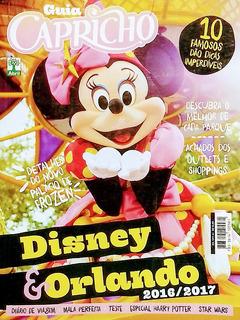 Revista Guia Capricho Ed 1211 Disney & Orlando 2017