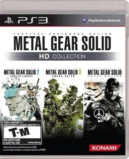 Metal Gear Solid Hd Collection Ps3 Juego Fisico Original