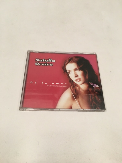 Cd Promocional Single Natalia Oreiro De Tu Amor Entrevista