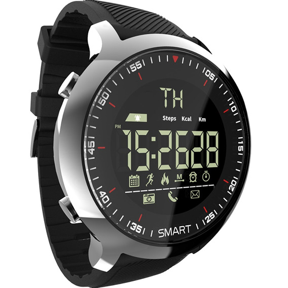 Lokmat Mk18 Inteligente Inteligente Relógio Esporte Lcd À Pr