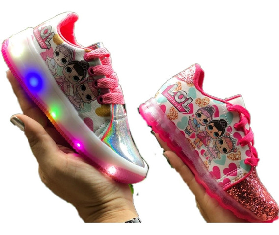 Zapatos De Niñas Con Luces Lol Surprise