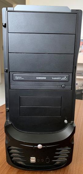 Gabinete 4 Baias E Fonte Atx 230w + Gravador Dvd