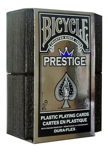 ¡ Cartas Bicycle Prestige Plastic Rojo Juego Poker !!