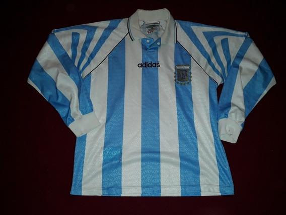 Camiseta Argentina 1997 Ml Titular Niño