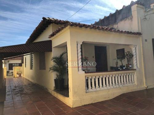 Casa À Venda, 180 M² Por R$ 800.000,00 - Centro - Vinhedo/sp - Ca0482