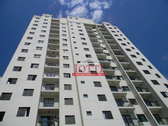 Apartamento Com 2 Dormitórios Para Alugar, 46 M² Por R$ 1.500/mês - Portal Dos Gramados - Guarulhos/sp - Ap0029