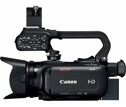 Filmadora Canon Profissional Xa15 Com N/f
