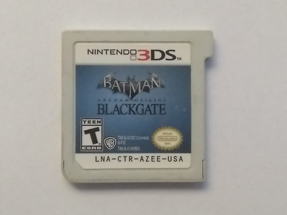 Batman Black Gate Arkham Origins - 3ds