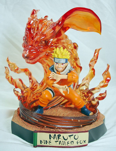 Naruto Nine Tailed Fox Toynami Limited Original N° 141 /1000