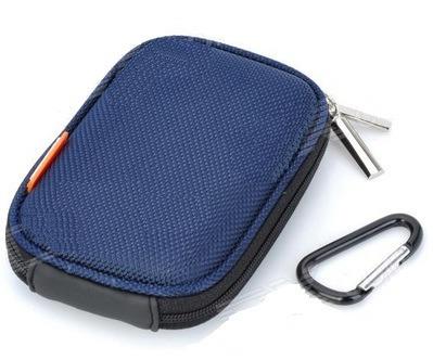 Capa Câmera Digital Bag Sony Samsung Nikon Canon - Azul
