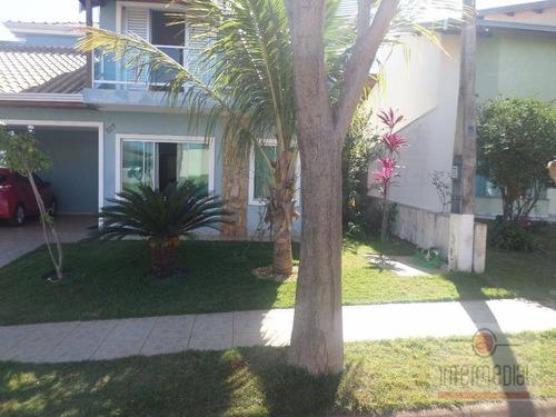 Casa Residencial À Venda, Vivendas Do Parque, Boituva. - Ca1622