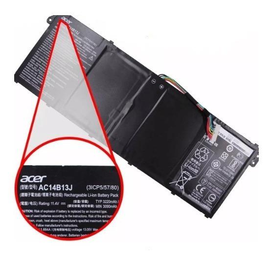 Bateria Acer Es1-512 11.4v 3200mah Ac14b13j (10949)
