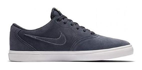 Tenis Nike Sb Check Solar Azul Blanco 843895402 Original!