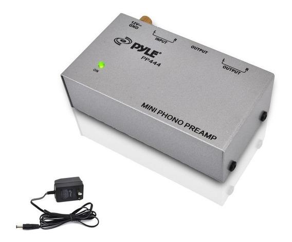 Pre Amplificador De Toca Disco Compacto Pyle Pp444 Preamp