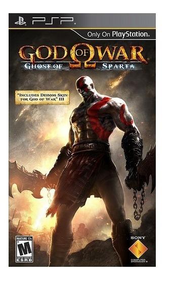 God Of War Ghost Of Sparta - Psp - Mídia Física - Usado