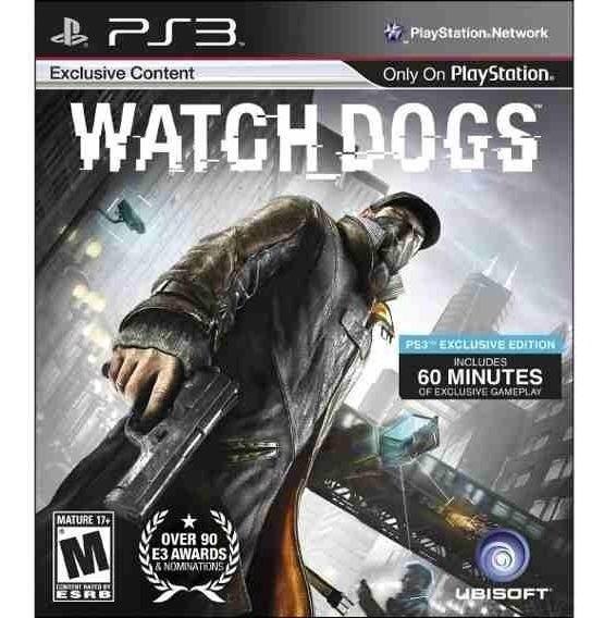 Watch Dogs Ps3 Seminovo Imperdivel