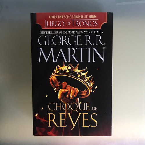 Imagen 1 de 1 de Choque De Reyes, George R.r. Martin