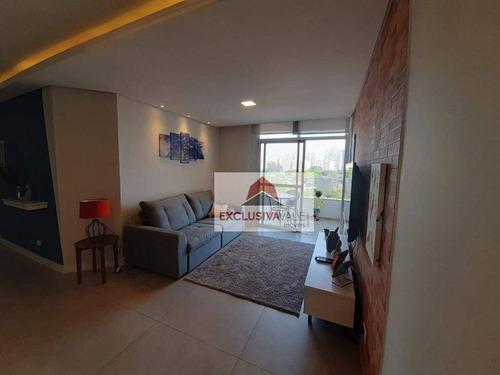 Apartamento Com 3 Dormitórios À Venda, 99 M² Por R$ 570.000,00 - Jardim Maringá - São José Dos Campos/sp - Ap2864