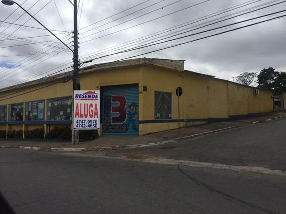 Salão Comercial Para Alugar Chacara Faggion Suzano Sl-0002