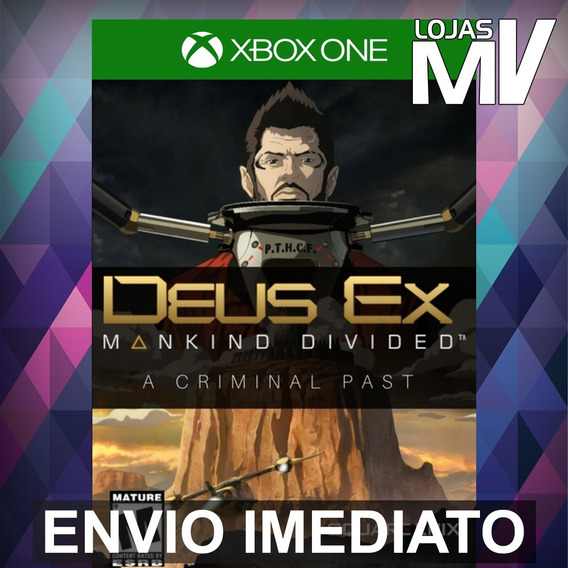 Deus Ex Mankind Divided A Criminal Past Xbox One 25 Dígitos