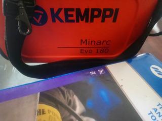 Maquina Soldadora Kemppi Minarc Evo 180. Made Finland.