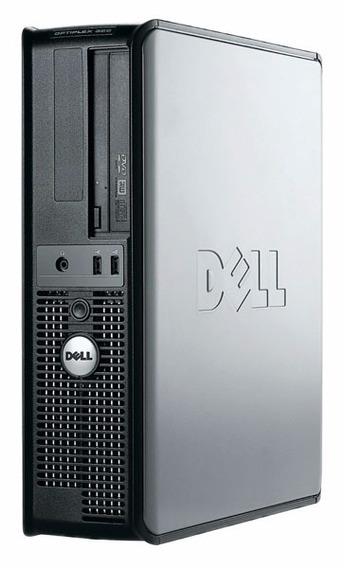 Cpu Dell Optiplex 320 Dual Core + 4gb Hd 80gb + Windows 7