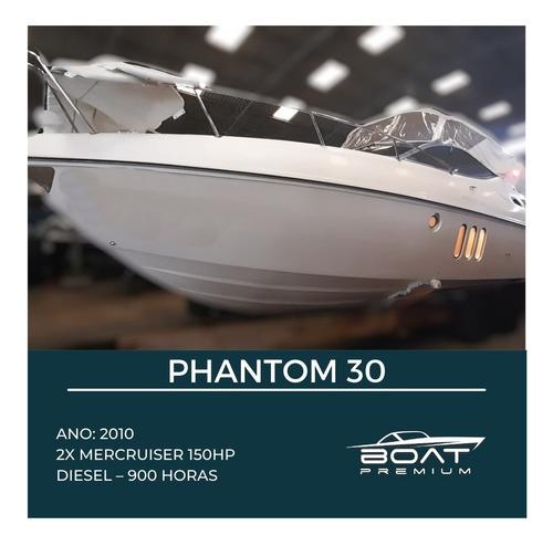 Phantom 30, 2010, 2x Mercruiser 150hp - Bayliner - Magnum -