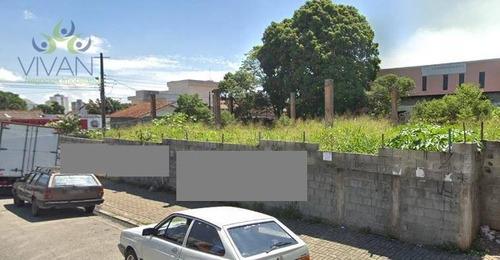 Imagem 1 de 1 de Terreno Centro De Suzano Para Alugar, 900 M² - Centro - Suzano/sp - Te0076