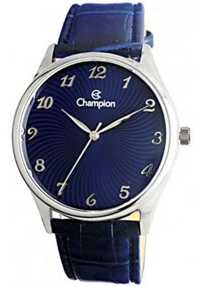 Relógio Feminino Champion Cn20551f Pulseira Couro - Promoção